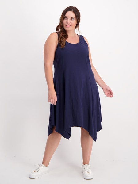 Womens Plus Swing Tank Dress