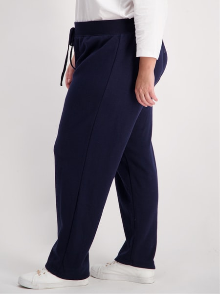 Womens Plus Straight Leg Trackpant