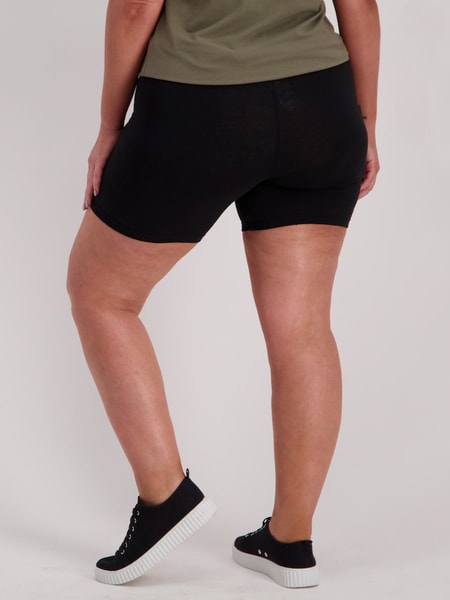 Womens Cotton Bike Short