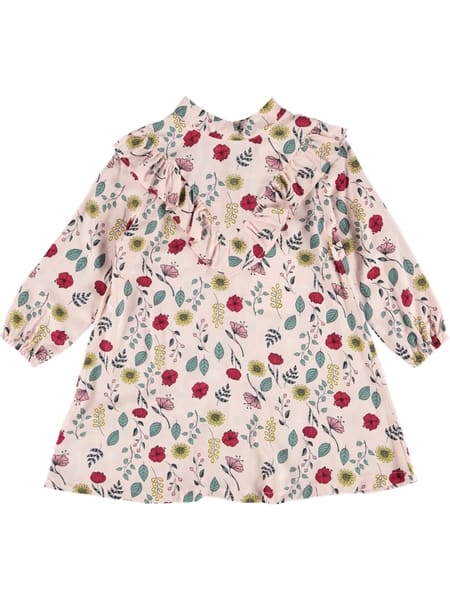 Toddler Girls Woven Print Dress