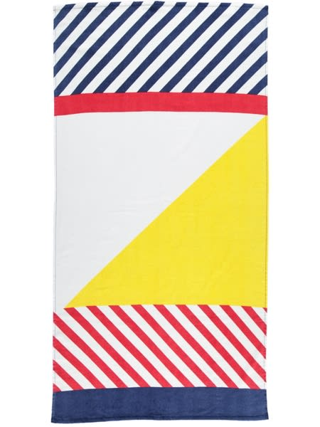 Adult Velour Stripes Beach Towel