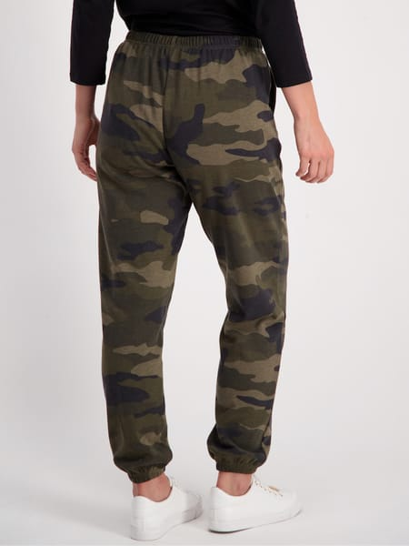 Womens Printed Skinny Trackpant