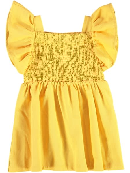 Toddler Girls Shirred Dress
