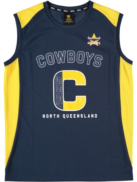 Cowboys NRL Youth Singlet