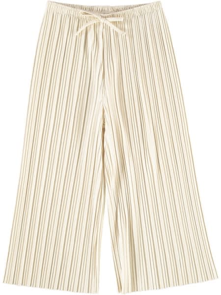 Girl Pleat Culotte Pant