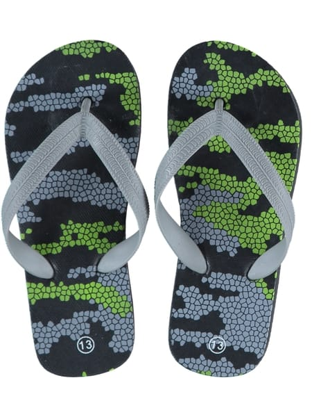 Boys Printed Basic Thongs