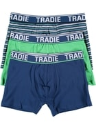 Mens Tradie 3Pk Trunk