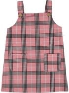Toddler Girls Plaid Pinafore Dress