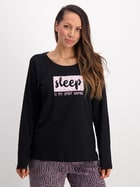 Womens Long Sleeve Waffle Top