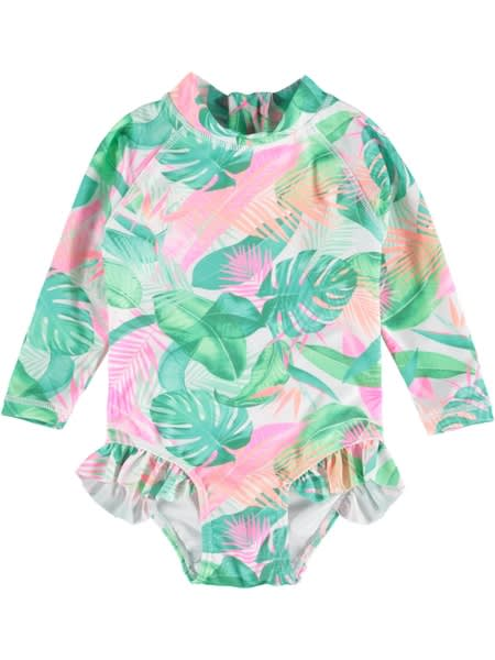 Toddler Girls Print Paddlesuit