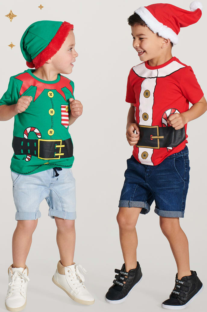 KIDS CHRISTMAS OUTFIT SETS