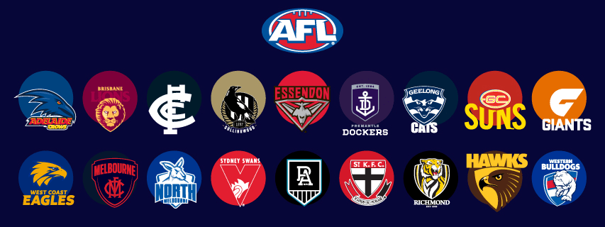 New Official AFL Supporter Gear