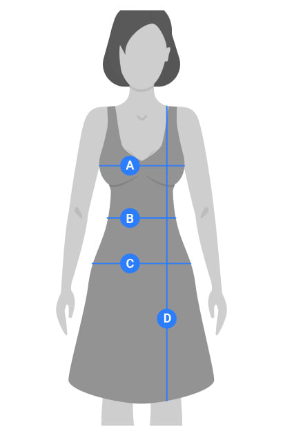 Womens Dresses Measuring Guide