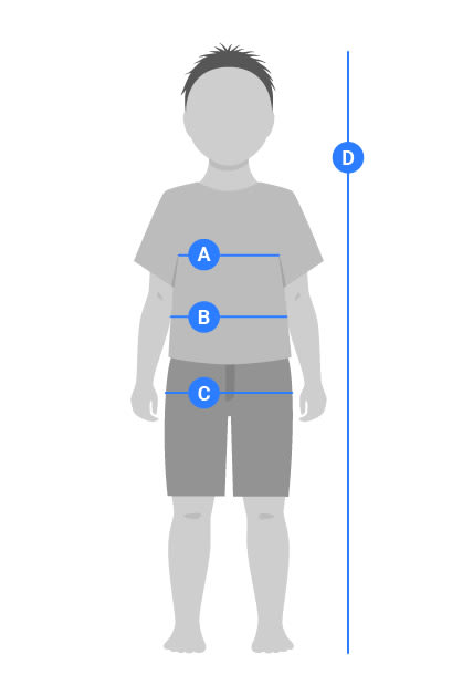 Boys Schoolwear measuring guide