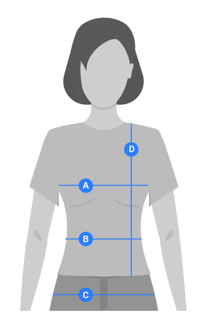 Womens Tops Measuring Guide